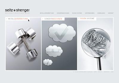 Seitz & Strenger-Imagebroschüre